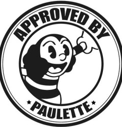 Approved by Paulette